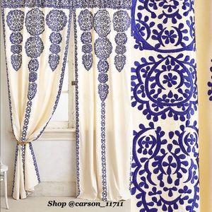 "NWT Anthropologie Marrakech Curtain 108"" x 42"""